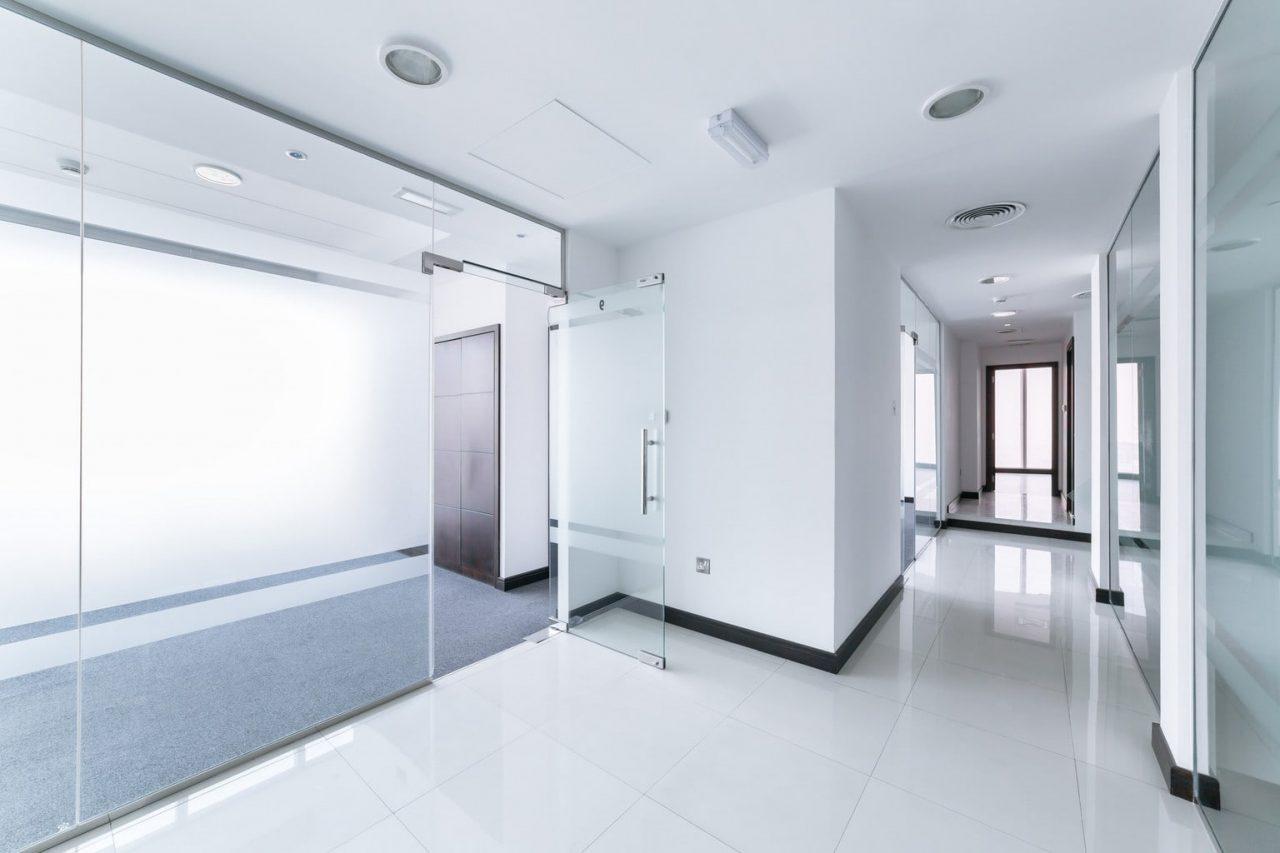 Sichtschutzfolie Office