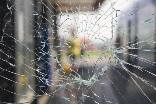 Splitterschutzfolie für Glasbruchschutz